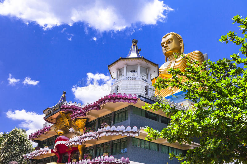 Temples of Sri lanka royalty free stock images
