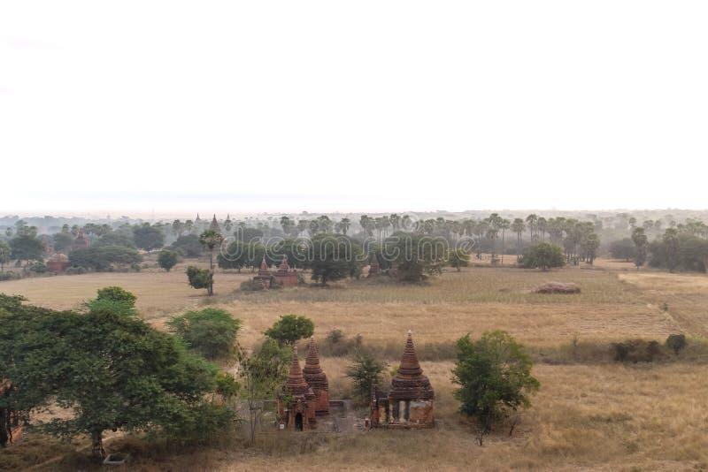 Temples, Stupas et Payas de Bagan, Myanmar photographie stock libre de droits