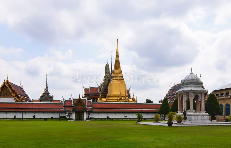 Wat Phra Kaew Temple, Grand Palace, Bangkok, Thailand stock photos