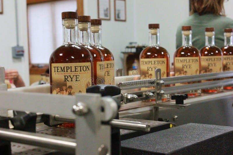 Templeton Rye Whiskey royalty-vrije stock fotografie