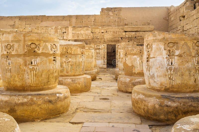 Templets kolonner royaltyfria foton