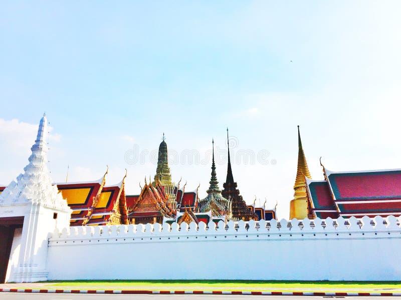 Templo Ταϊλάνδη στοκ εικόνα με δικαίωμα ελεύθερης χρήσης