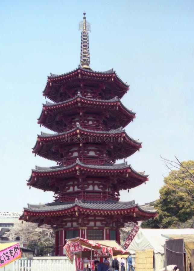 Templo 100 foto de archivo