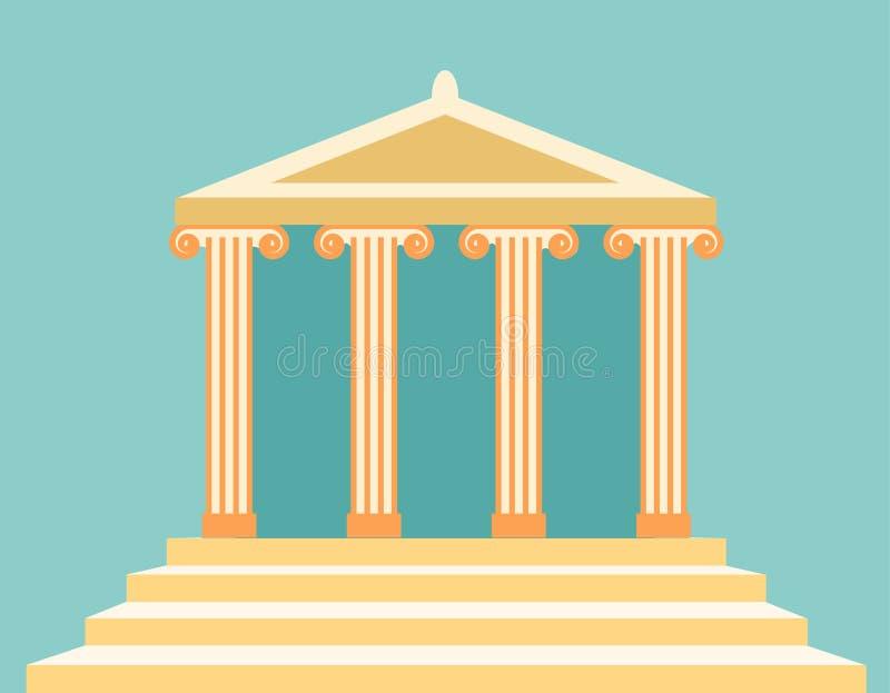 Templo ilustração do vetor