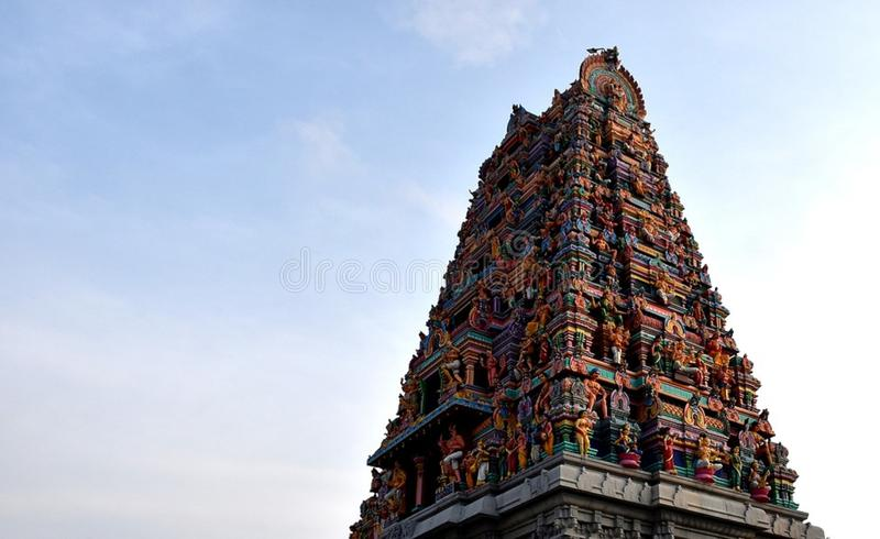 Templo agradável do deus foto de stock royalty free