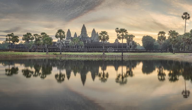 Templo Angkor complejo Wat Siem Reap, Camboya foto de archivo libre de regalías