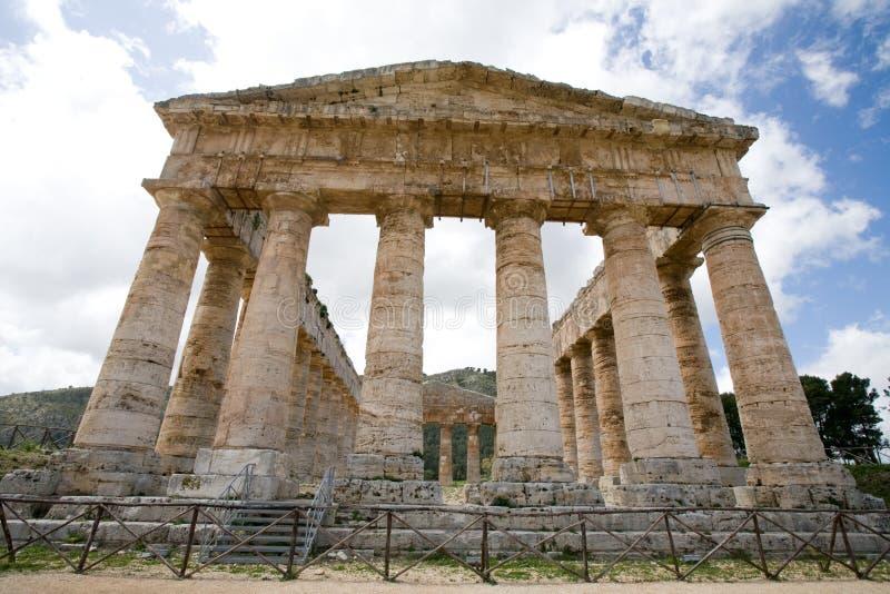 Templo antigo imagem de stock