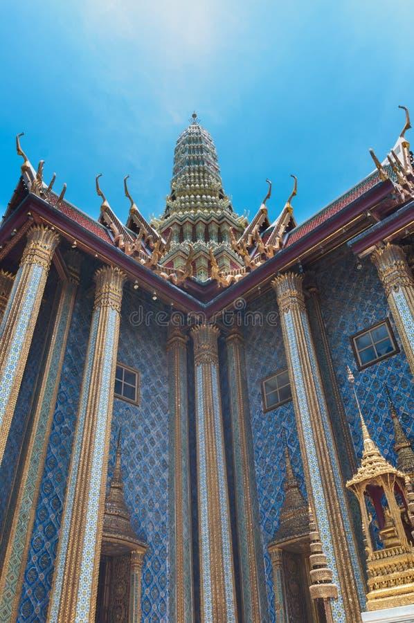 Templo antigo do palácio dos reis de Banguecoque em Tailândia fotografia de stock royalty free
