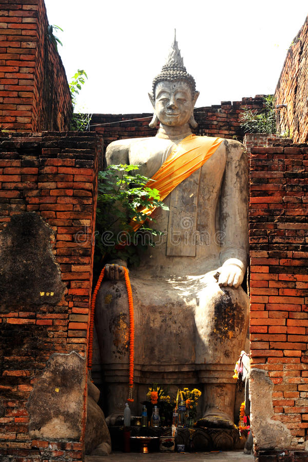 Templo antigo Tailândia fotos de stock