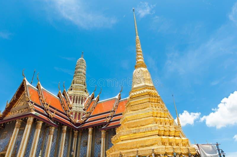 Templo antigo Tailândia do palácio dos reis de Banguecoque imagens de stock