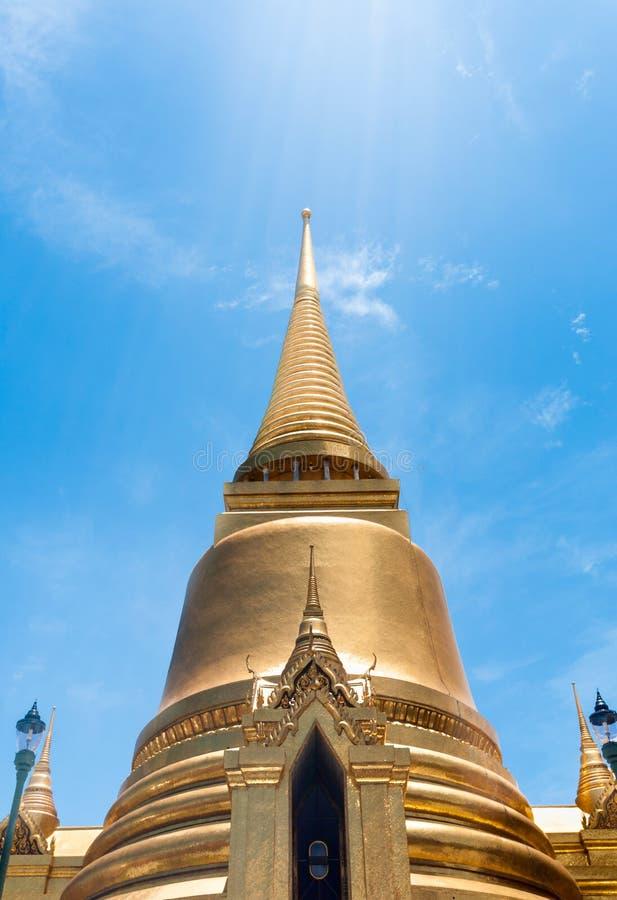 Templo antigo Tailândia do palácio dos reis de Banguecoque foto de stock