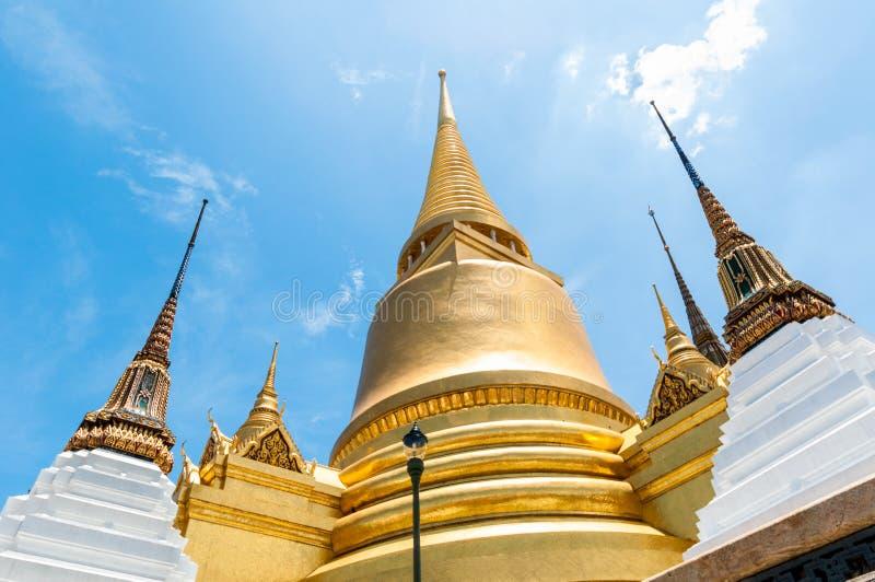 Templo antigo Tailândia do palácio dos reis de Banguecoque imagem de stock