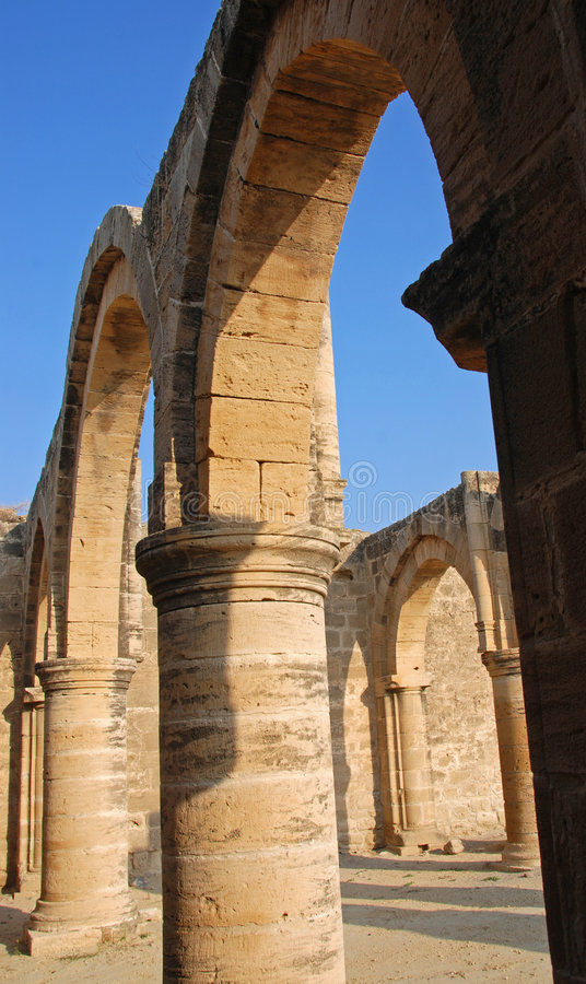 Templo antiguo foto de archivo