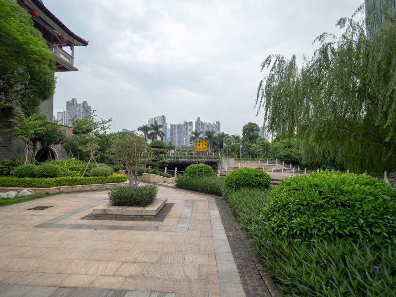 Templo antiguo de Liede, Guangzhou, China foto de archivo