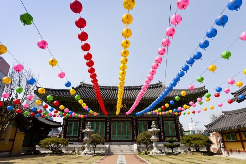 Templo asiático imagens de stock royalty free