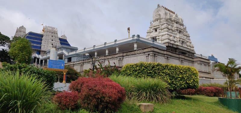 Templo Bangalore de ISKCON imagem de stock royalty free
