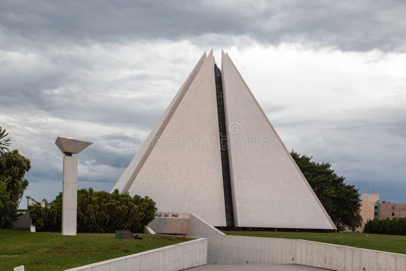 Templo Brasilia de Vontade de la boa de Legiao DA imagenes de archivo