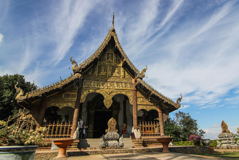 Templo budista fotos de archivo