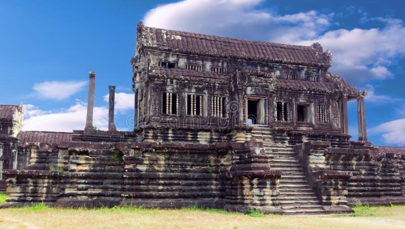 Templo budista antiguo en el complejo de Angkor Wat imagenes de archivo