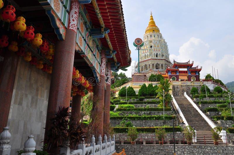 Templo budista chino de Kek Lok Si fotos de archivo
