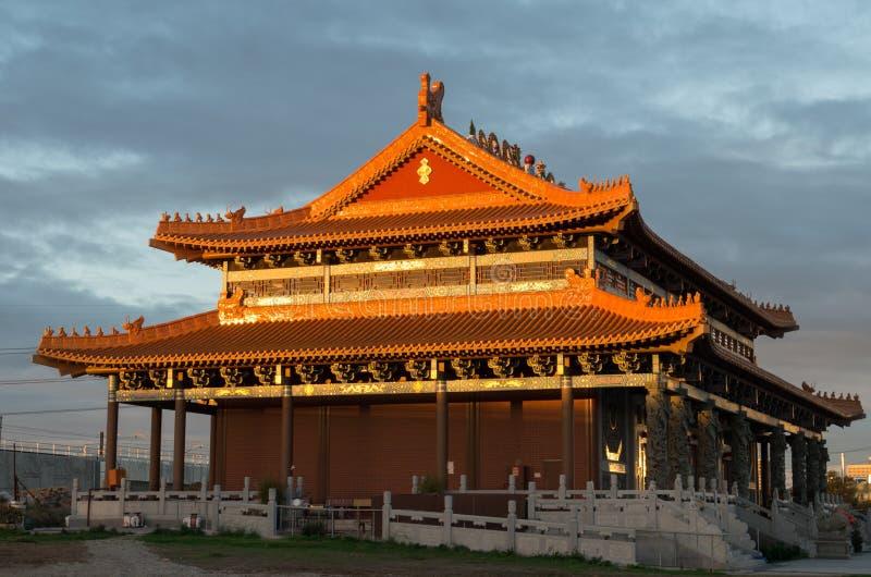 Templo budista da rainha celestial em Footscray, Austrália imagens de stock