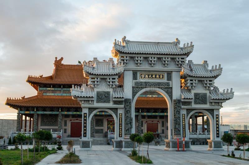 Templo budista da rainha celestial em Footscray, Austrália fotografia de stock