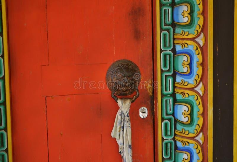 Templo budista Datsan em Buriácia fotos de stock
