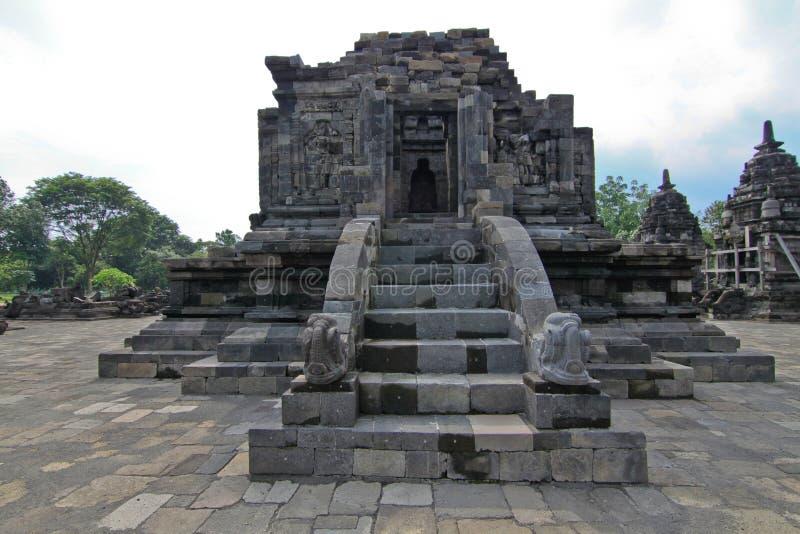 Templo budista de Candi Lumbung imagen de archivo libre de regalías