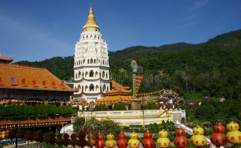 Templo budista de Kek Lok Si imagem de stock royalty free