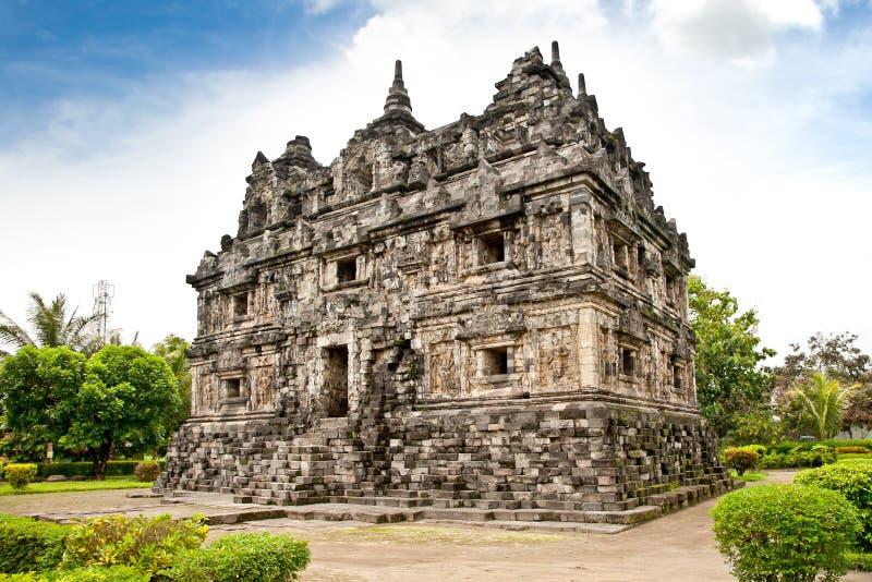 Templo budista de la sari de Candi en Java. Indonesia. imagen de archivo