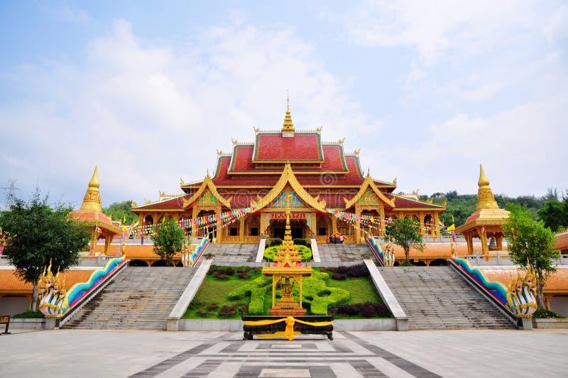 Templo budista de Menjie imagens de stock
