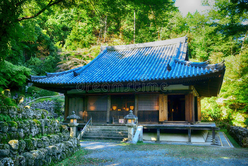 Templo budista de Otagi Nenbutsu, Kyoto, Japón fotos de archivo libres de regalías