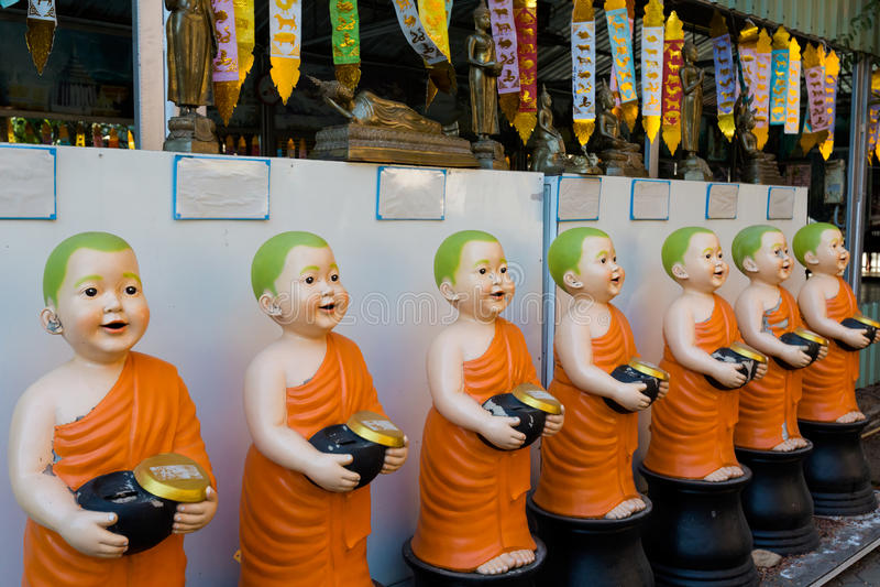Templo budista de Wat Lok Molee fotografia de stock royalty free