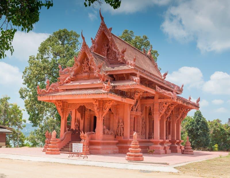 Templo budista de Wat Sila Ngu em Hua Thanon, Koh Samui, tailandês fotografia de stock royalty free
