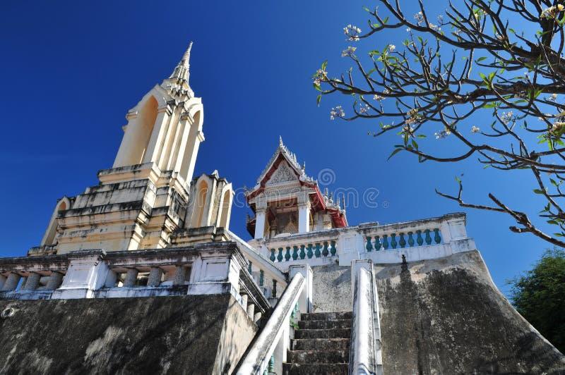 Templo budista del palacio de Phra Nakorn Kiri foto de archivo