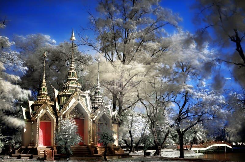 Templo budista em Ayutthaya imagem de stock