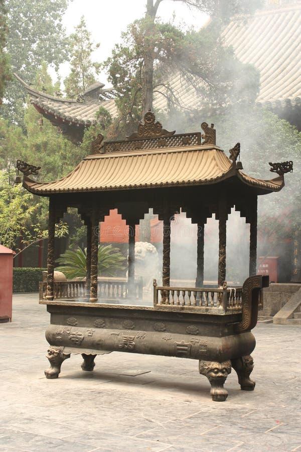 Templo budista em China imagem de stock royalty free