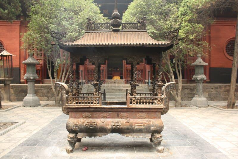 Templo budista em China imagens de stock