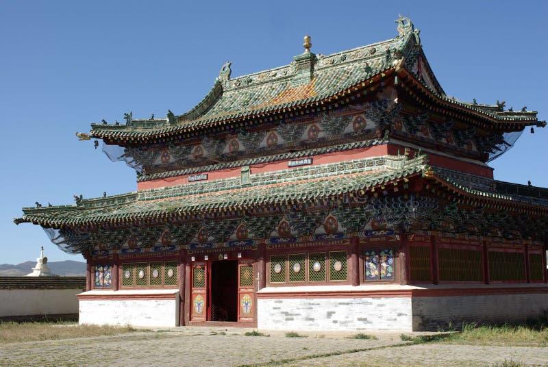 Templo budista em Mongolia imagem de stock royalty free