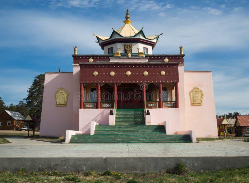 Templo budista en Ulán Udé, Rusia imagenes de archivo