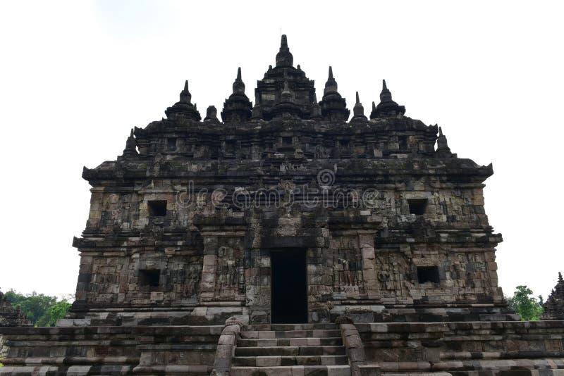 Templo budista histórico de Candi Plaosan imagen de archivo