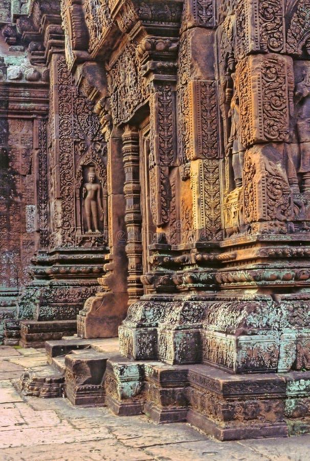 Templo-Camboya fotografía de archivo libre de regalías