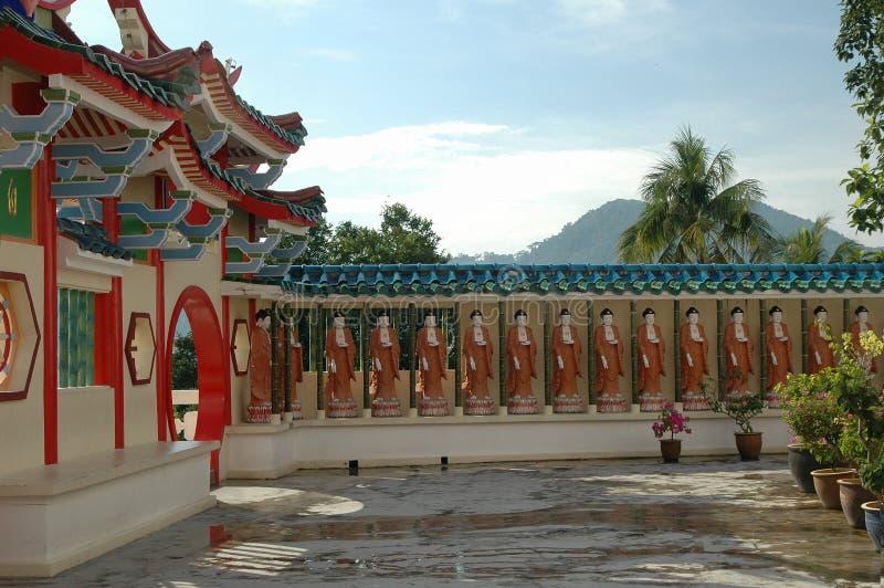 Templo chinês imagem de stock royalty free