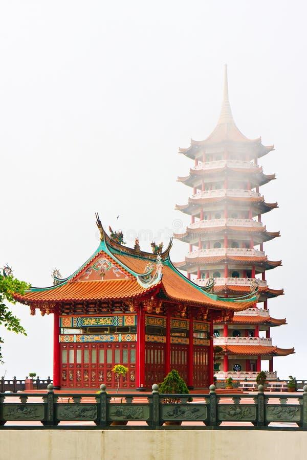 Templo chino de Swee de la barbilla fotos de archivo libres de regalías