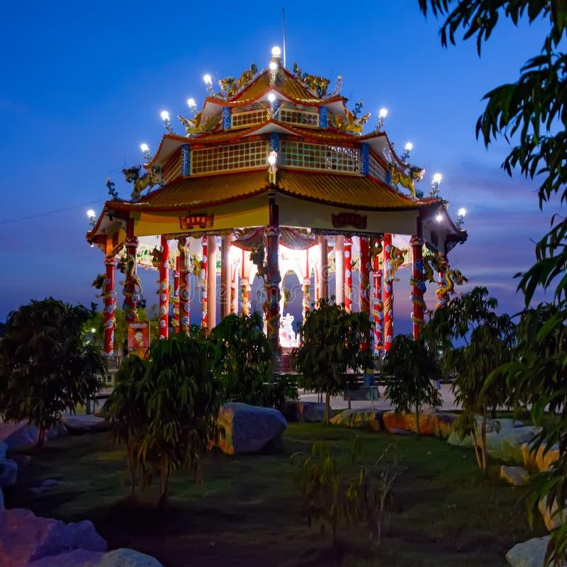 Templo chino en Koh Loi fotos de archivo libres de regalías