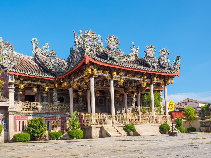 Templo chino en Penang, Malasia imagen de archivo