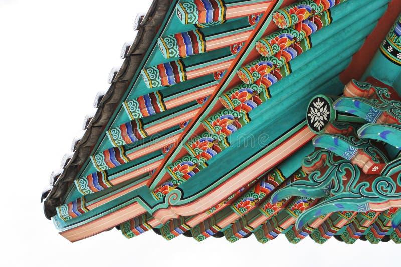 Templo coreano imágenes de archivo libres de regalías