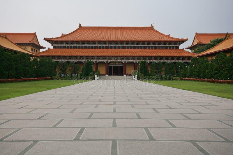 Templo da Buda de Taiwan fotos de stock royalty free