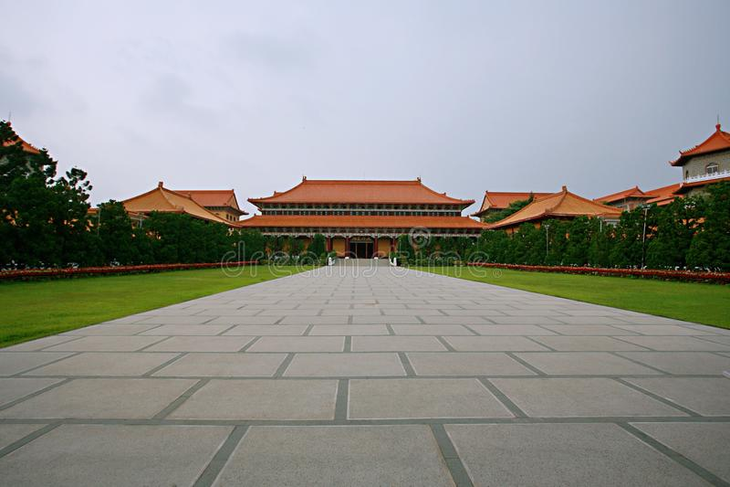 Templo da Buda de Taiwan foto de stock