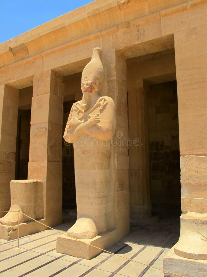 Templo da rainha Hatshepsup Monumentos históricos da antiguidade fotos de stock